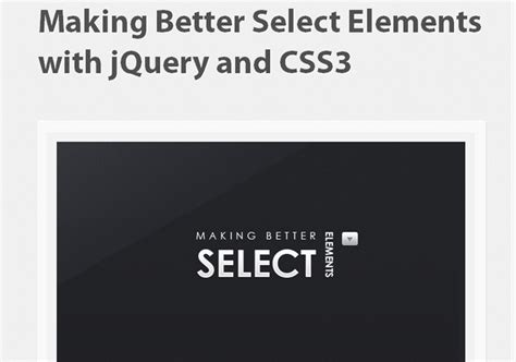 jquery quicksand tutorial 12 jquery css3 resources and tutorials and 18 more