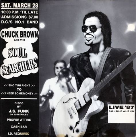 chuck brown go go swing chuck brown and the soul searchers live 87 vinyl lp