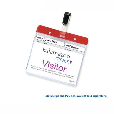Samsung Vaccum Personalised Visitor Passes Kalamazoo Direct