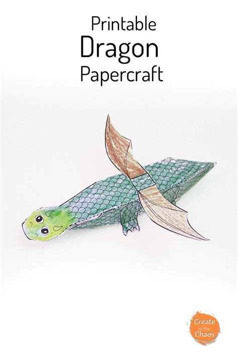 printable paper dragon printable dragon papercraft create in the chaos