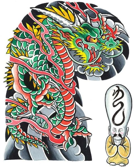 tattoo flash japanese garyou tensei 108 japanese tattoo sleeve designs by yushi