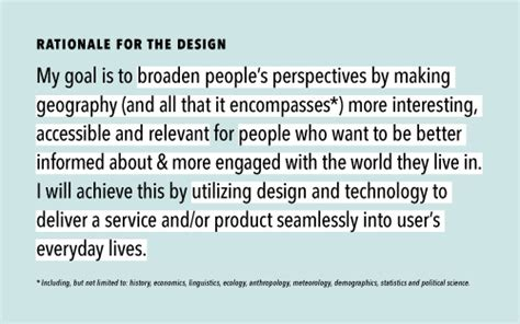 design rationale definition coherence clarity or lack thereof theory practice