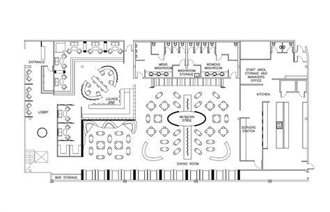 restuarant floor plan restaurant design