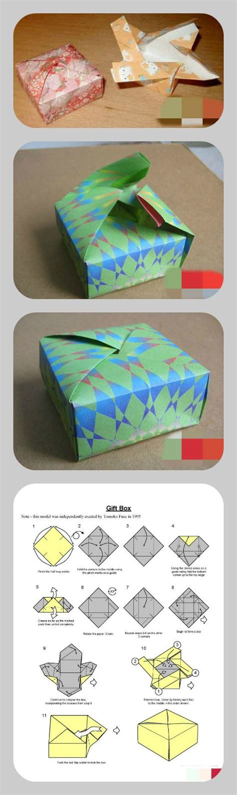 Origami Gift Box Template - the world s catalog of ideas