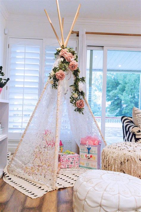 When To Hold A Baby Shower by Boho Baby Shower For Cambria Tents Nursery And Babies