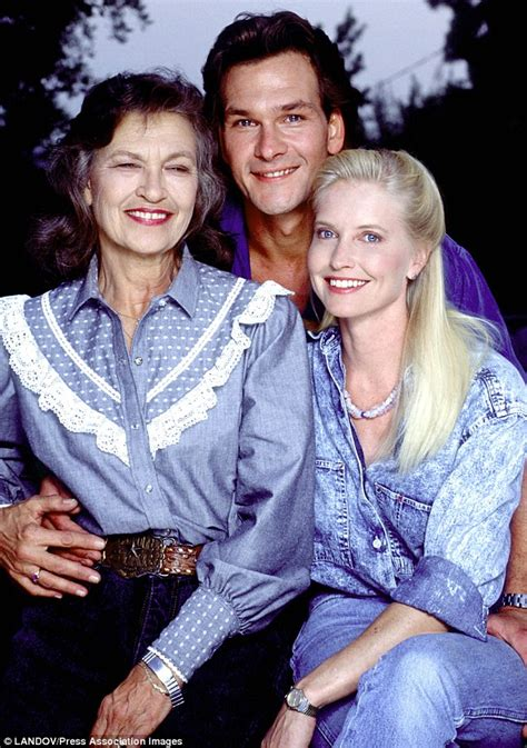 lisa niemi and patrick swayze children patrick swayze s mother patsy dies aged 86 just days