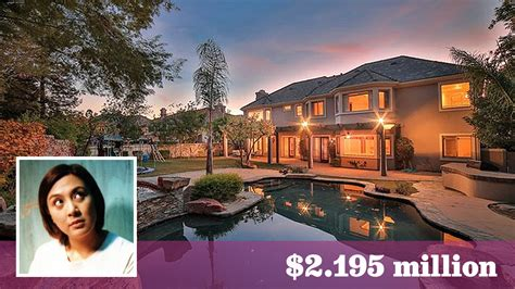 Built In Kitchen Island by Filipino Entertainer Sharon Cuneta Puts Her Calabasas Home