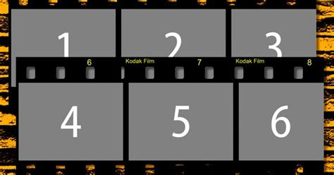 designeasy free filmstrip automated psd templates