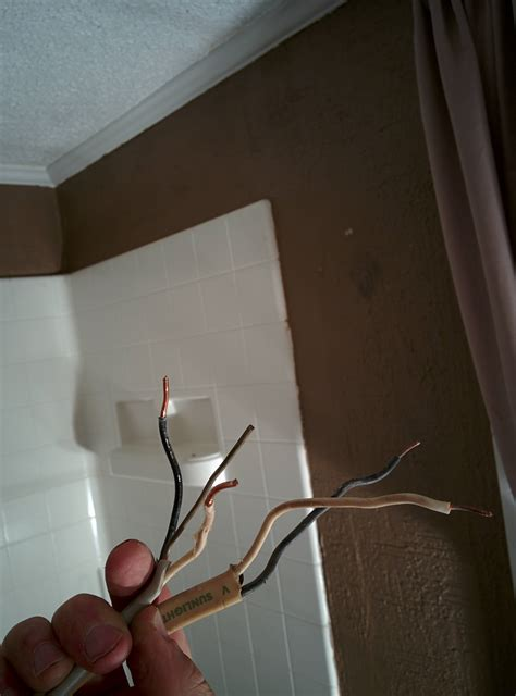 electrical wiring bathroom exhaust fan with heater