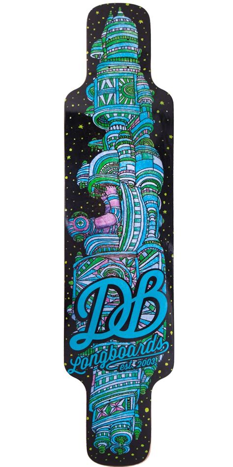 longboard lowered deck db cosmonaut v2 longboard skateboard deck