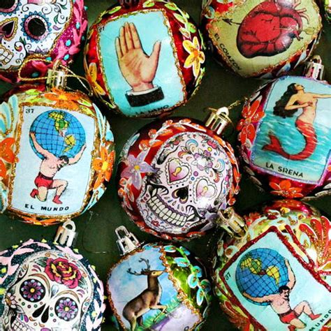 mexican christmas decorations vintage mexican ornaments allfreechristmascrafts