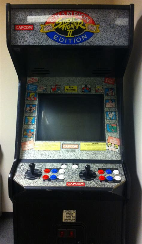 street fighter 3 cabinet got me a street fighter ii chion edition arcade