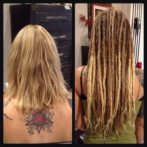 dread extensions short hair before after 10 best human hair dreadlock extensions images on