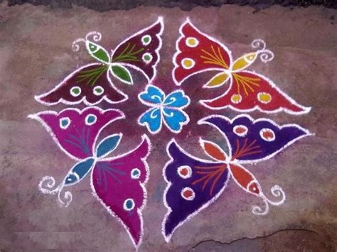 design flower kolam with dots latest small kolam designs for margazhi month working