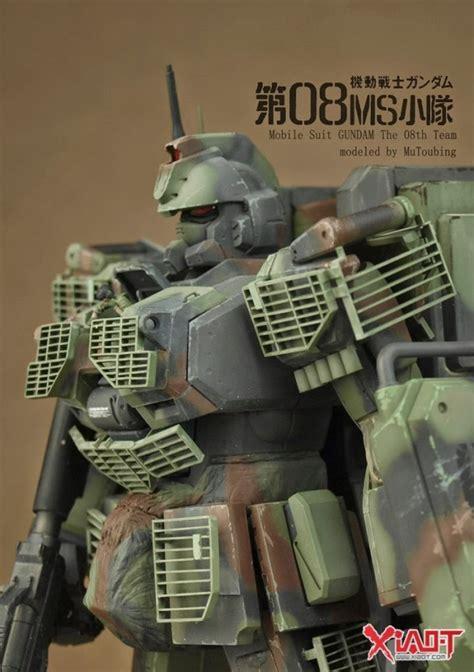 Gundam Mg 1 100 Rx 79 G Ez8 rx 79 g gundam ground type rx 79 g ez 8 gundam ez8 custom the 08th ms team work by