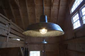 outdoor warehouse lighting rustic barn lights give vintage feel to new barn