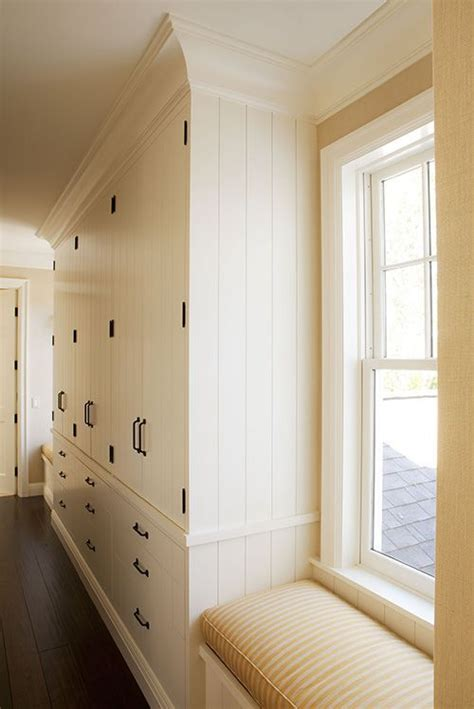 Hallway Wardrobe by Building Out Along A Wall Can Create Enough Storage To