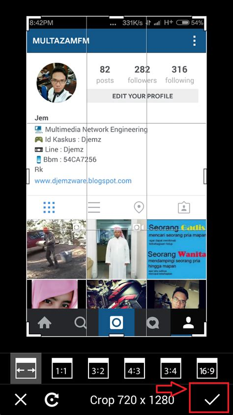 cara membuat instagram in hand cara mudah membuat foto instagram in hand full screenshot