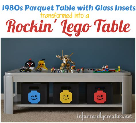 How To Build A Lego Table by Diy Lego Table Transformation