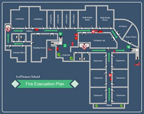 Visio Floor Plan Template by How To Create Evacuation Plan