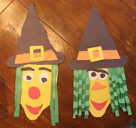 Crafts Made From Construction Paper - construction paper witch kidlist activities