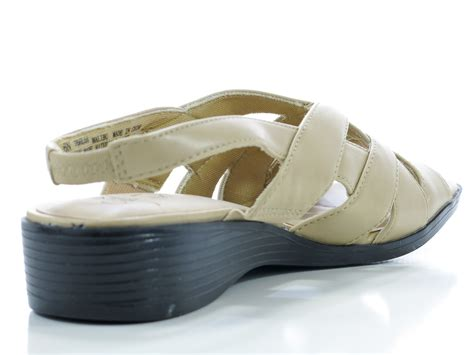 stretch comfort sandals lifestride womens malibu shoes beige sandals slingbacks