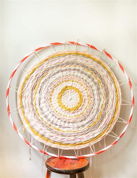 Hula Hoop Rug by Woven Hula Hoop Rug Flax Twine