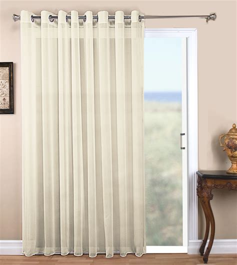 curtain store online tergaline two way rod pocket semi sheer panel
