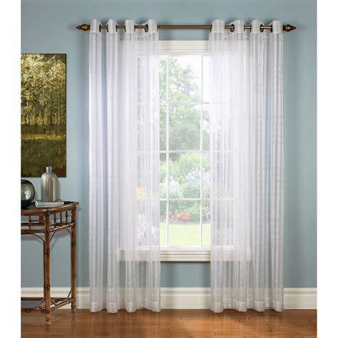 Hanging Sheer Curtains Hanging Grommet Curtains With Sheers Curtain Menzilperde Net