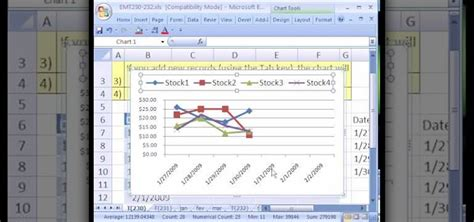 excel 2010 line chart tutorial how to create a 3d line chart in excel 2010 how to plot
