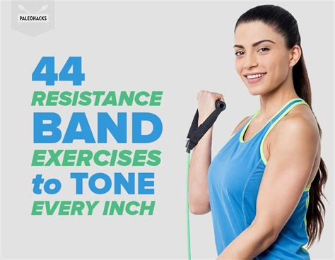 resistance band exercises  tone