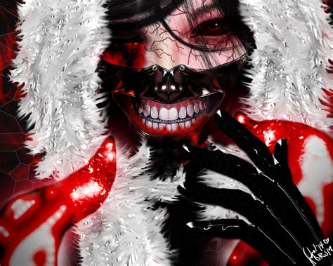 Tokyo Ghoul Fanart (OC) by RuthMartos on DeviantArt