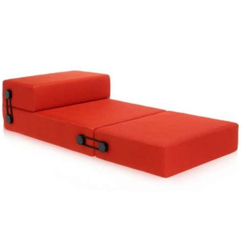 pull out futon bed trix 174 convertible folding sleeper sofa guest bed kartell