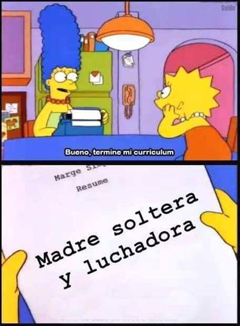 Memes Los Simpson - conoce la historia de la madre guerrera y luchadora y