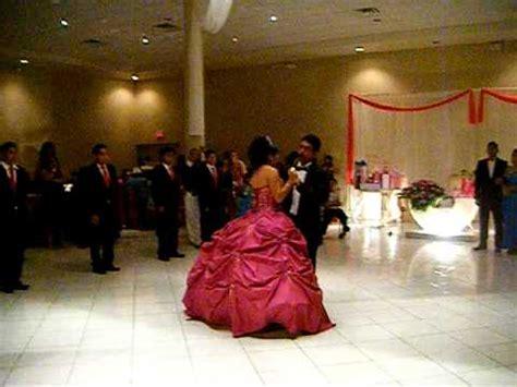 bailando el vals de quince a os quinceaneras waltz quincea 241 era bailando vals con su papa 25sep10 youtube