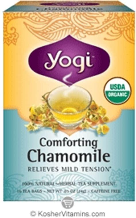 Yogi Tea Womans Nursing Support Asi Booster For yogi tea kosher organic comforting chamomile tea 16 tea