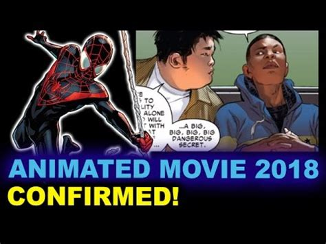 watch the first trailer for the animated miles morales spider man spider man animated movie 2018 miles morales beyond