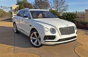Bentley Suv Truck The 2017 Bentley Bentayga Is A Stellar Beast Of Burden A