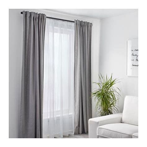 two curtain rods one window the 25 best ideas about double curtains on pinterest