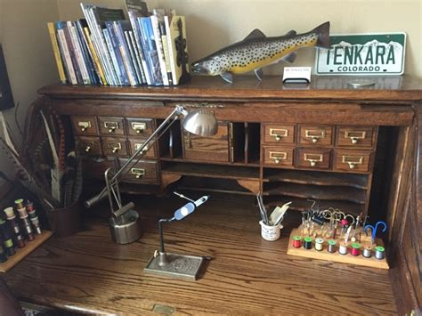 roll top fly tying desk best home design 2018