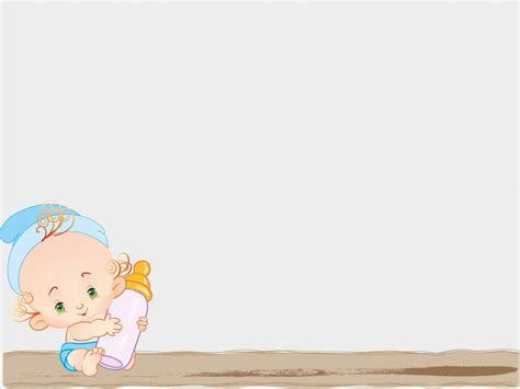 baby feed with milk ppt backgrounds foods amp drinks