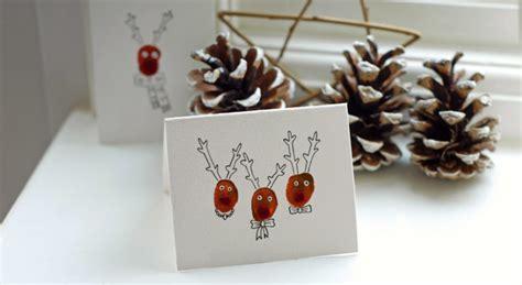 Handmade Reindeer Cards - 10 ways to celebrate card day tip junkie