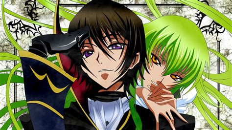 c c and lelouch lerouge code geass wallpaper anime