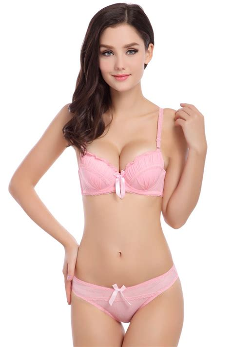 Slim With Cup High Quality Pelangsing cheap bra and pantie sets buy quality bras for small breasted directly from china bra