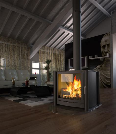 firebelly wood burning stove contemporary wood burning