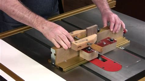 incra  box jig  box joints youtube
