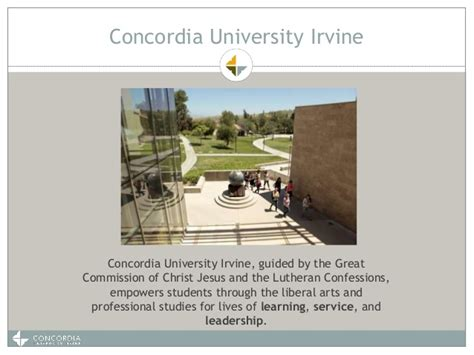 Concordia Irvine Mba Accreditation by Concordia Irvine Wasc Arc 2016 Engaging
