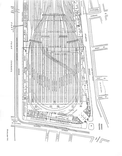layout plan for voting station south station expansion plan calls for replacing widett