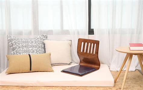 floor sitting chair floor sitting chair wood cushion japanese tatami chair