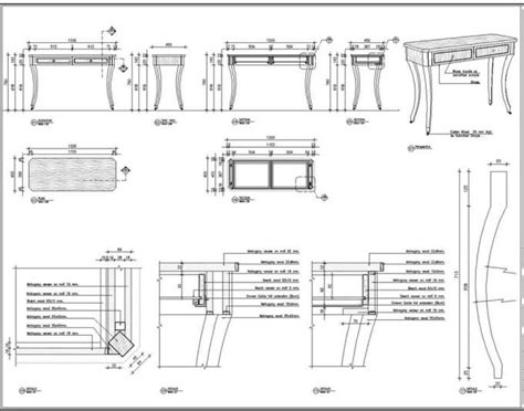 furniture  wood working shop drawing woodworking